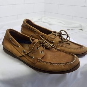 Sperry Men's size 12 Original Boat Shoes Brown